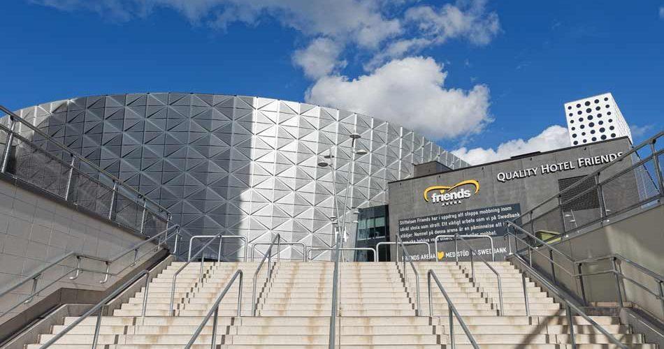 Friends Arena AIK Allsvenskan Sverige arena fotboll