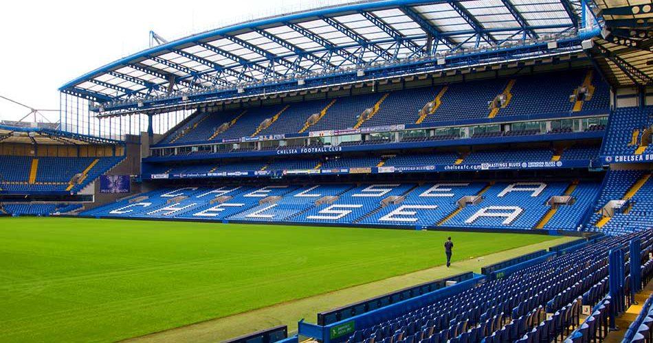 Premier League fotboll arena