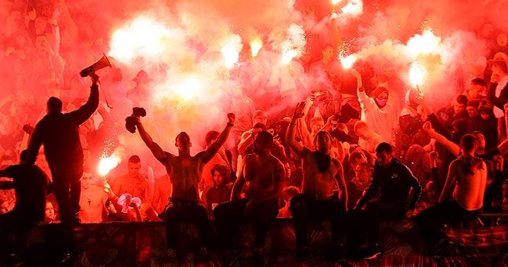 Fotboll generell allmän fans